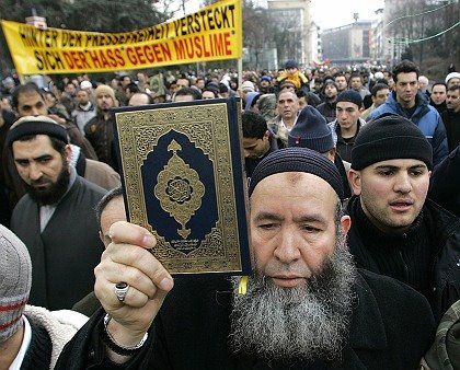 DEU NRW ISLAM KARIKATUREN PROTEST