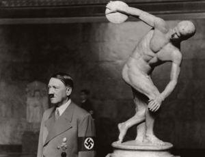 Hitler-y-el-Discobolo-de-Miron
