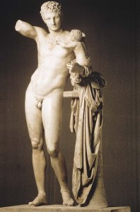 Praxiteles Hermes con Dioniso
